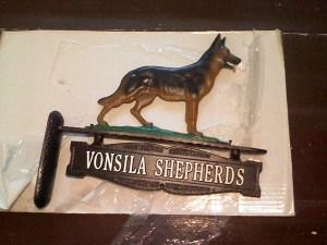 Past Puppy Vonsila Kennels